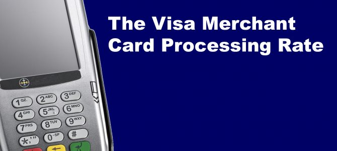 Visa merchant credit card processing rate toronto