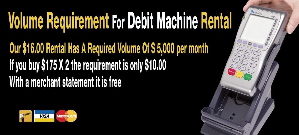 query debit card hookup