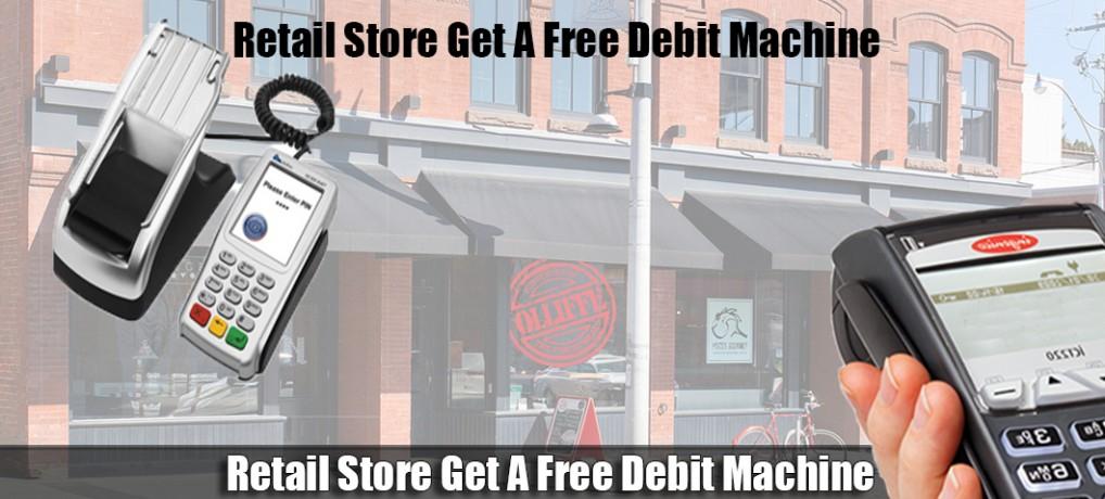 Toronto Retail Store Get A Free Debit Machine