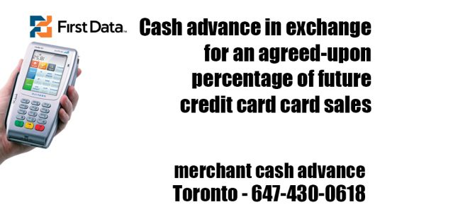 Canada business loans merchant cash advance toronto