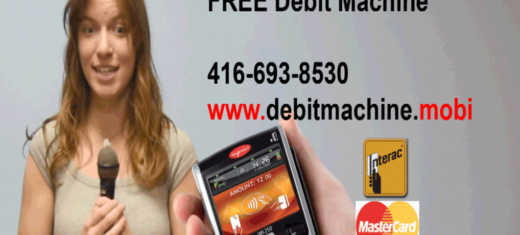 Free Debit Machine Toronto
